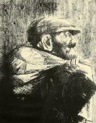 AFTER EVA FRANKFURTHER (1930-1959), MAN CARRYING A SACK
