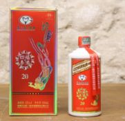 """1 50cl. BOTTLE KWEICHOW MOUTAI 'FLYING FAIRY' """"KWEICHOW MOUTAI GROUP"""" '20' AN EXCEPTIONALLY RARE AN"""