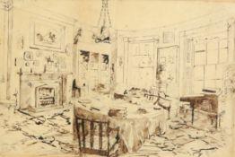 19TH CENTURY SCHOOL, INTERIOR