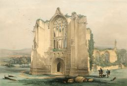 TWO 19TH CENTURY LITHOGRAPHS