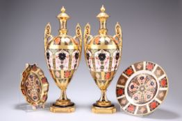 A GROUP OF ROYAL CROWN DERBY IMARI