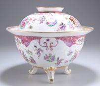 A SAMSON PORCELAIN BOWL AND COVER IN CHINESE EXPORT STYLE