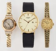 THREE ASSORTED WATCHES