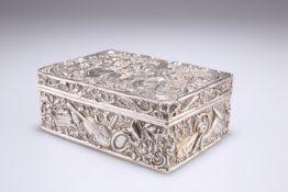 A GERMAN SILVER TABLE BOX