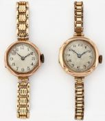 TWO LADY'S BRACELET WATCHES