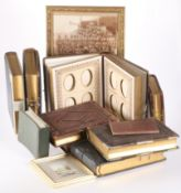 EIGHT VICTORIAN AND EARLY 20TH CENTURY PHOTOGRAPH ALBUMS
