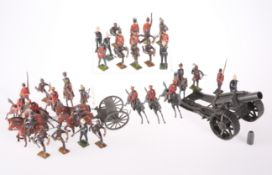 A QUANTITY OF BRITAINS LEAD SOLDIERS