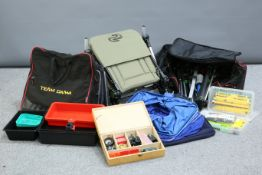 A LARGE QUANTITY OF FISHING ACCESSORIES