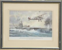 EIGHT VARIOUS PRINTS AND OTHER WORKS RELATING TO THE AIRFORCE
