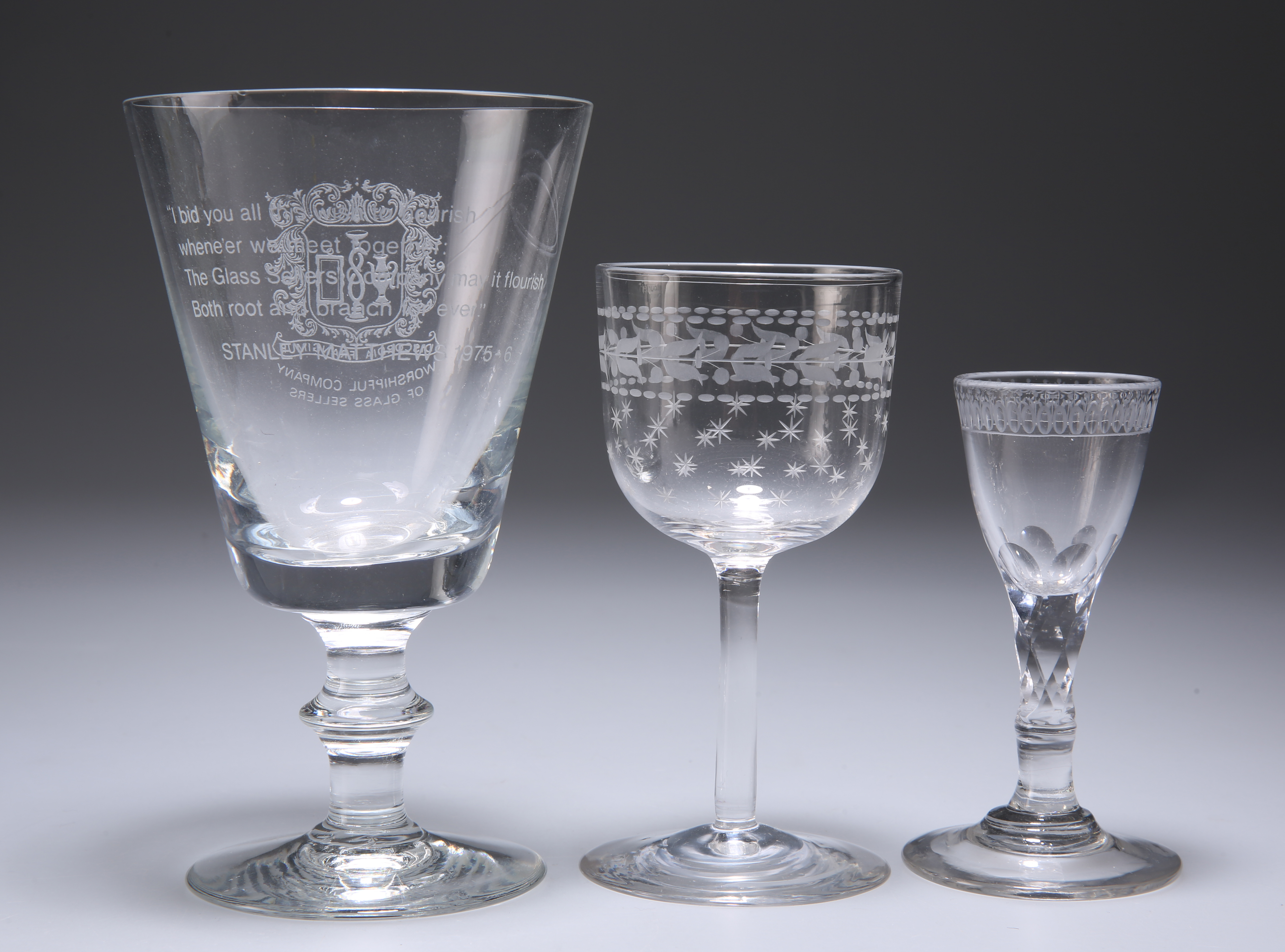 A GROUP OF GLASS - Image 4 of 5