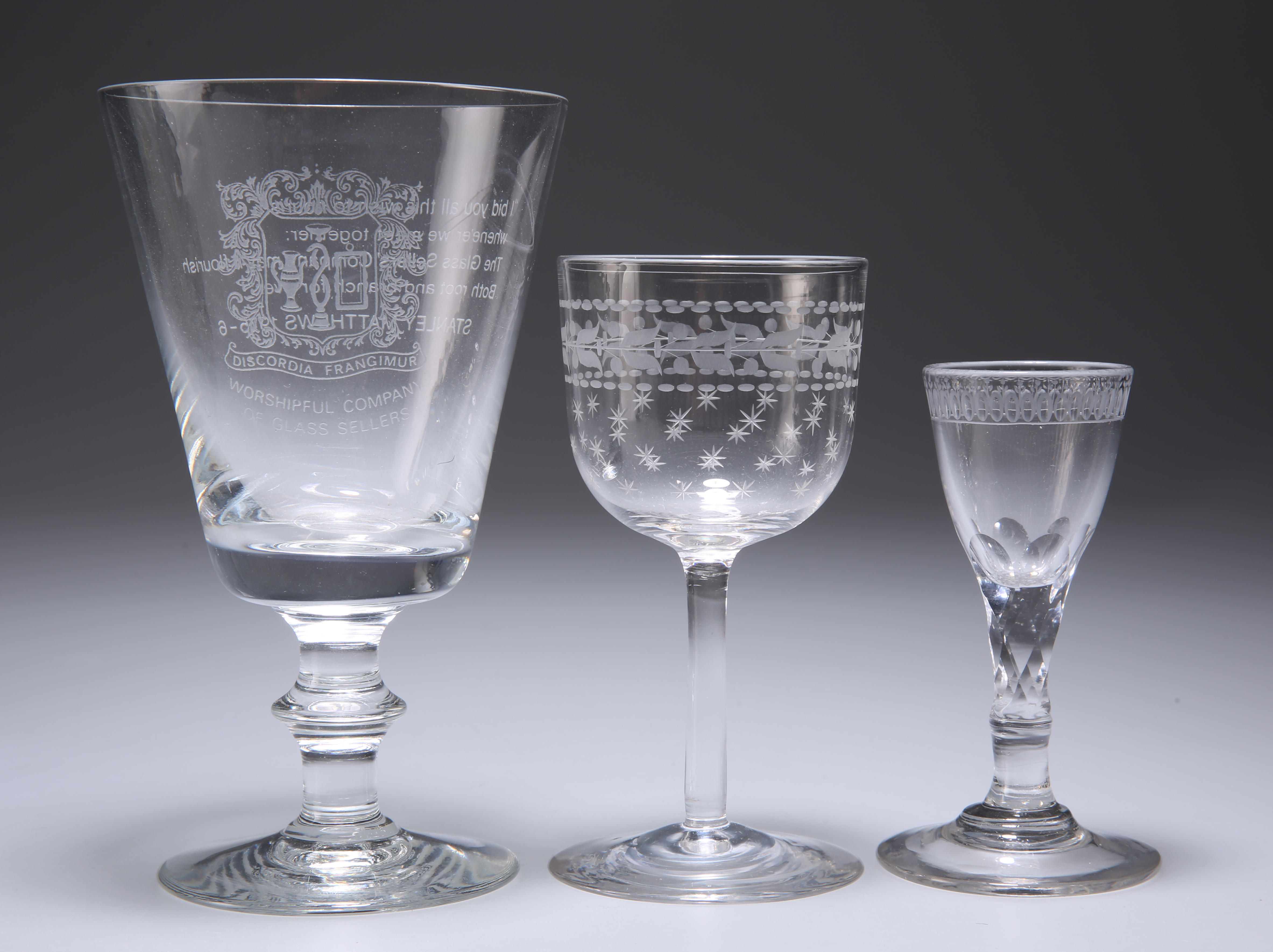 A GROUP OF GLASS - Image 3 of 5