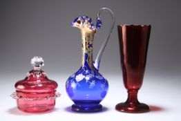 A GROUP OF GLASS