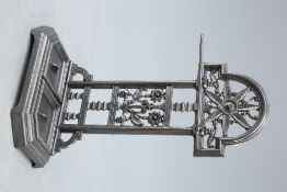A FALKIRK CASTIRON STICK STAND, LATE 19TH CENTURY