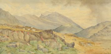 WILLIAM BELLERBY (AFTER WILLIAM MOORE), HELVELLYN FROM KESWICK ROAD