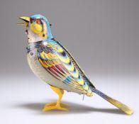 A GERMAN GNK TINPLATE CLOCKWORK BIRD