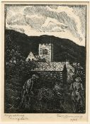 """GEORGE C. DUNNING, """"CHAPEL STILE"""" AND """"HAYMAKING, LANGDALE"""""""