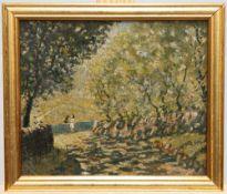 "FREDERICK (FRED) CECIL JONES (1891-1966), ""ADEN NEAR HALIFAX"""