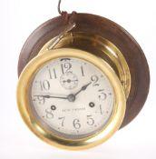 A 19TH CENTURY SETH THOMAS USA BULK HEAD CLOCK