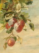 J*** WATKINS (BRITISH, CIRCA 1930), STILL LIFE OF FRUIT ON THE BOUGH