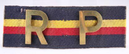 A REGIMENTAL POLICE ARMBAND