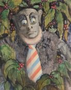DONALD HUGHES (1881-1970), FIVE WATERCOLOURS