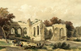 AFTER WILLIAM RICHARDSON, TWO LITHOGRAPHS AND A PRINT