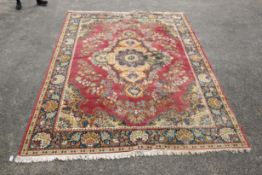 A LARGE PAIR OF CARPETS