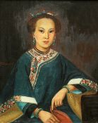 CHINESE SCHOOL, PORTRAIT OF A LADY
