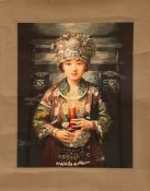 A CHINESE HAND-EMBROIDERED SILK PICTURE, 20TH CENTURY