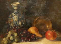 CONTINENTAL SCHOOL, STILL LIFE WITH FRUIT