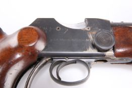 A DEACTIVATED BSA MARTINI ACTION .22 CAL TARGET RIFLE