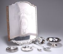 A GROUP OF ASSORTED SILVER