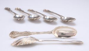 A SET OF SIX CONTINENTAL SPOONS