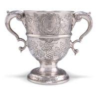 A GEORGE III IRISH SILVER CUP