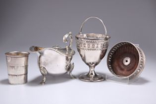 A GROUP OF SILVER-PLATE