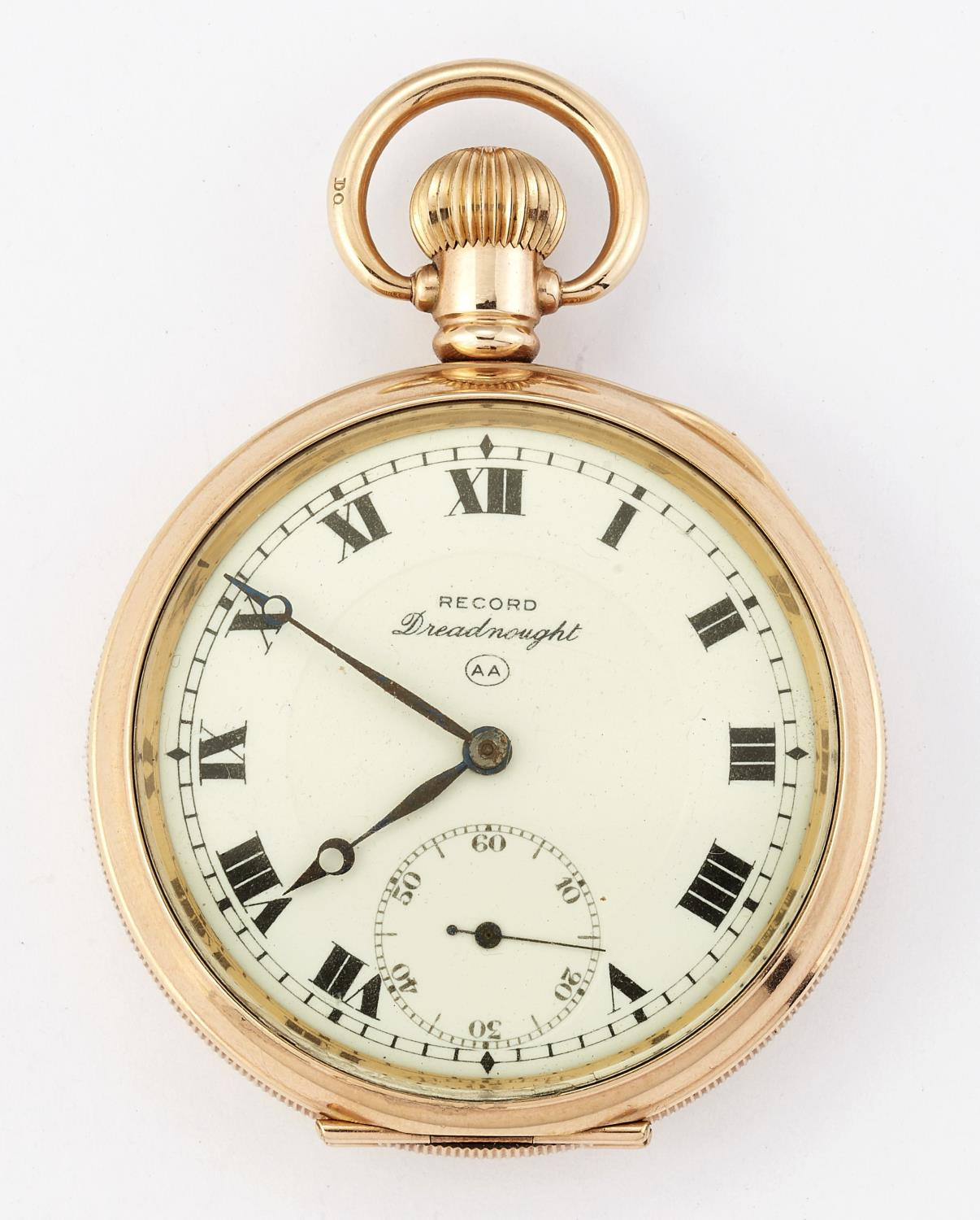 A RECORD DREADNOUGHT POCKET WATCH - Image 2 of 2