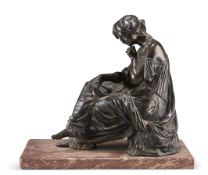 "JEAN-JACQUES (""JAMES"") PRADIER (SWISS 1790-1852), A BRONZE FIGURE"