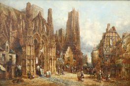 HENRY THOMAS SCHAFER (BRITISH, 1854-1915), LOUVIERS, NORMANDY