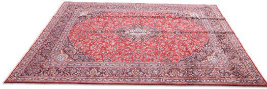 AN IRANIAN HAND-KNOTTED WOOL CARPET, KHORASAN