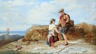 JOHN HENRY MOLE (1814-1886), COLLECTING THE CATCH