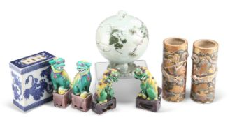 A COLLECTION OF CHINESE AND JAPANESE CERAMICS