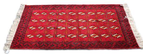 AN IRANIAN HAND-KNOTTED WOOL CARPET, BALOCHISTAN