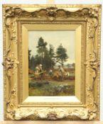 SIR JAMES LAWTON WINGATE (1846-1924), THE WOOD GATHERERS