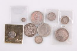 A COLLECTION OF GEORGE IV AND LATER COINS