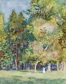 GARNET RUSKIN WOLSELEY (1884-1967), FIGURES IN WOODLAND