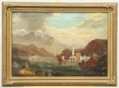 CONTINENTAL SCHOOL (19TH CENTURY), LAKE SCENE