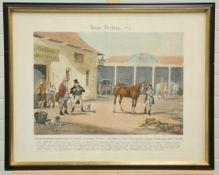 "JOHN HARRIS III (1811-1865) AFTER R. SCANLAN, ""HORSE DEALING"""