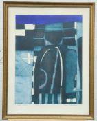 "JOHN BRUNSDON (BRITISH, 1933-2014), ""GREEN OBELISK"""