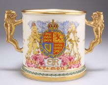 A PARAGON LIMITED EDITION EDWARD VIII COMMEMORATIVE LOVING CUP