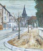 ALISTAIR GRANT (1925-1997), STREET SCENE